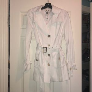 NWT high quality white spring/summer jacket